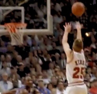 Recalling days when Steve Kerr played for NBA title before coaching for one