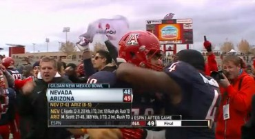 """Reliving """"Survival Saturday"""": Dec. 15, 2012, one of the greatest days in Arizona Wildcats history"""