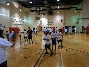 Al Addleman girls basketball camp
