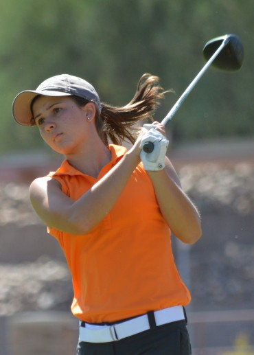 Sydney Colwill playing for AZ Junior Match Play Championship