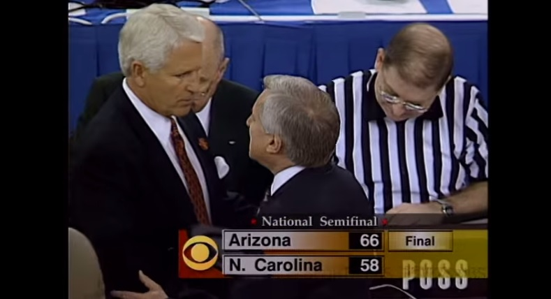 Legendary Dean Smith, 83, coached last game against Arizona Wildcats