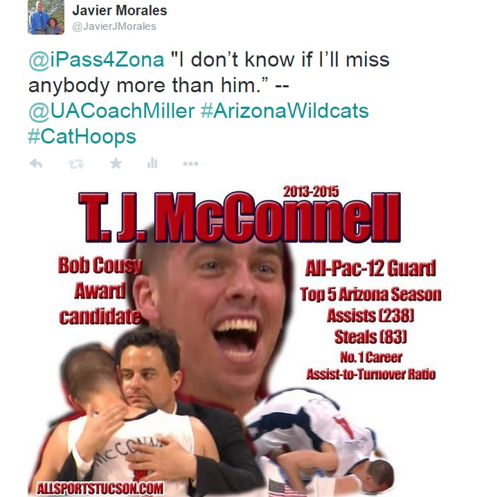 Social media reactions of Arizona Wildcats' Elite Eight loss to Wisconsin