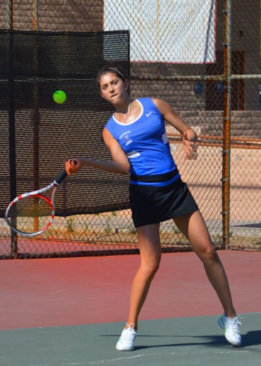 Girl's team tennis results