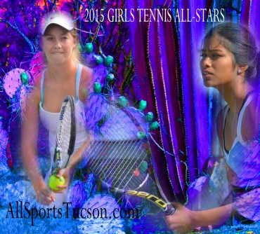 2015 Southern Arizona Girls Tennis All-Stars