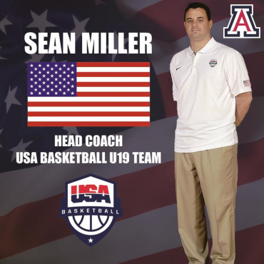 Sean Miller to lead USA U19 in World Championships
