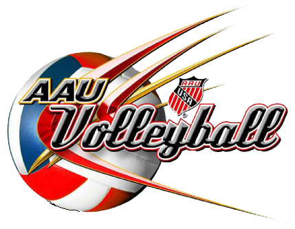 Zona competing at AAU Junior National Volleyball Championships