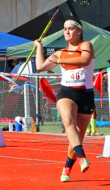 Vail 8th grader Alyssa Perrini set to compete for Javelin gold again