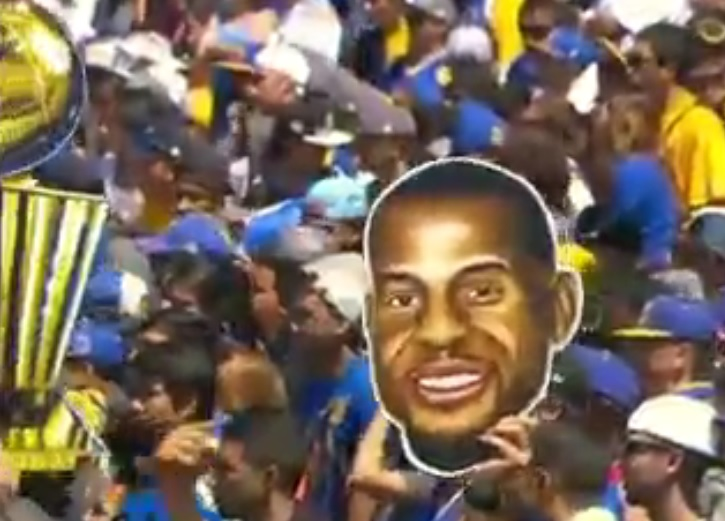 Five former Arizona Wildcats celebrate Golden State's NBA title in parade, rally