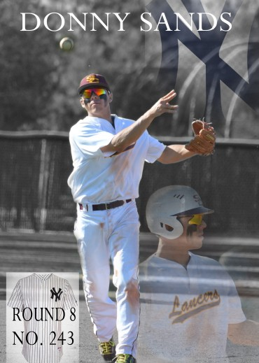 Salpointe standout Donny Sands named to Rawlings All-Region Team