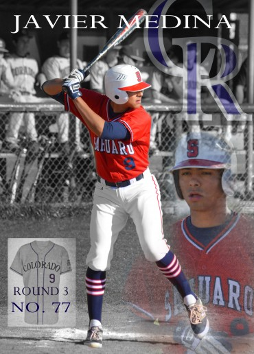 Colorado Rockies Draft Sahuaro's Javier Medina
