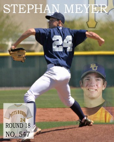 Stephan Meyer named MCAC Pitcher of the Year, drafted by the Pirates