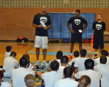 Solomon Hill Basketball Camp: giving back to the community