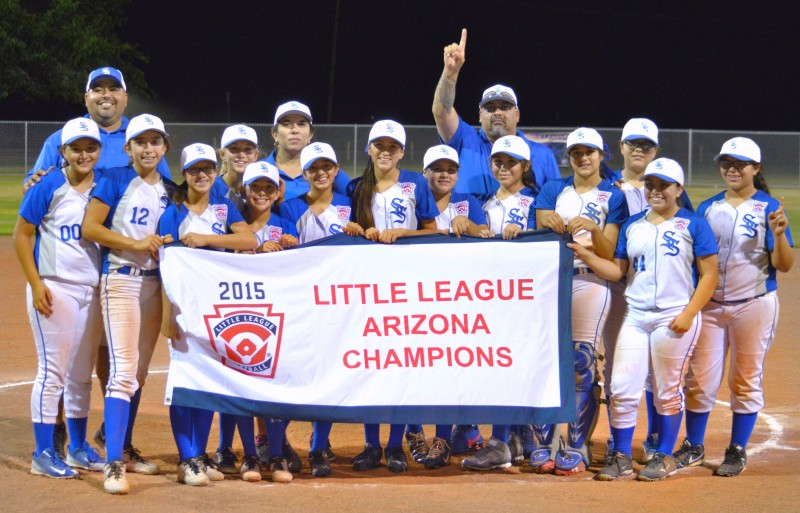 LITTLE LEAGUE SOFTBALL: Sunnyside wins state championship