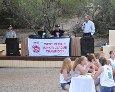 Mike Candrea kicks off Little League Junior Softball West Regionals