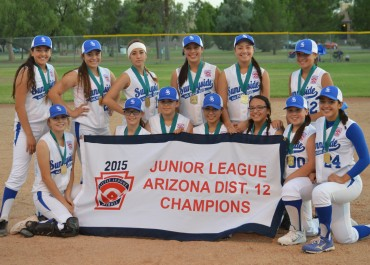 LITTLE LEAGUE: Sunnyside wins District 12 junior softball championship