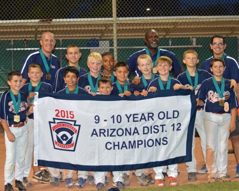 9-10 LITTLE LEAGUE: Vail Rincon defeated Sunnyside to win championship