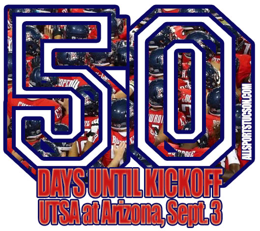 Arizona Wildcats' Top 50 games in history starts with only 50 days to kickoff