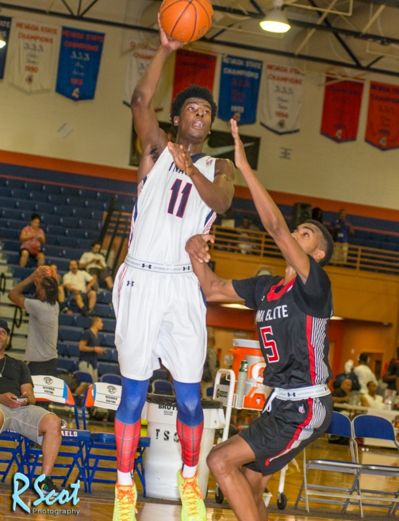 Photo slideshow: Arizona Wildcats' Class of 2016 target Josh Jackson dazzles in Las Vegas