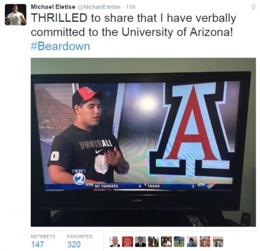 Arizona Wildcats dip into deep talent pool in Hawaii to get top-ranked offensive lineman