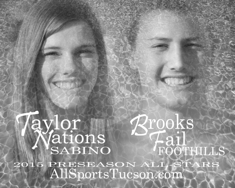 Taylor Nations & Brooks Fail: Preseason Swim & Dive All-Stars