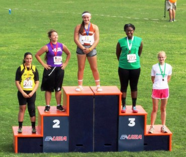 16 Gold Medals won at the USATF Region 10 championships
