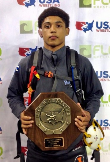 Roman Bravo-Young wins Cadet Freestyle national championship again