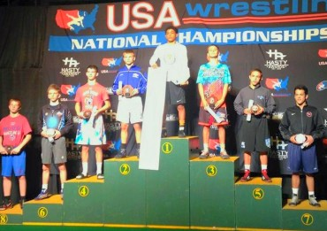 Roman Bravo-Young wins Cadet Greco national championship