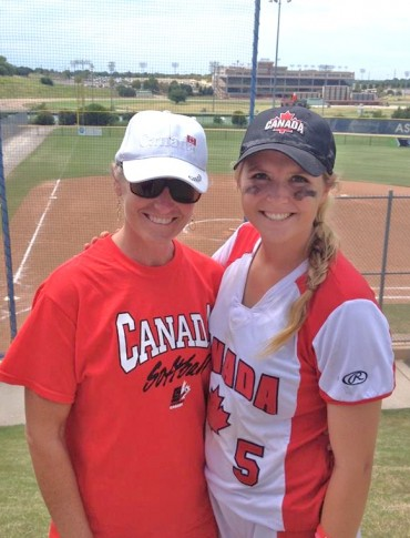Former Sabino standout Kelsey Jenkins leads Canada to 4th place at Jr. World Softball Championship