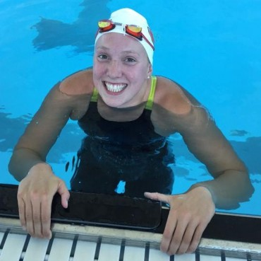 Krista Duffield makes Olympic Trial cuts in 50 & 100 Free