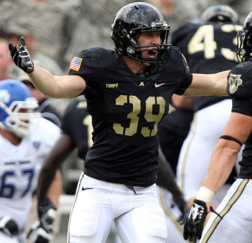 Former Sabino standout Jeremy Timpf named Army team captain