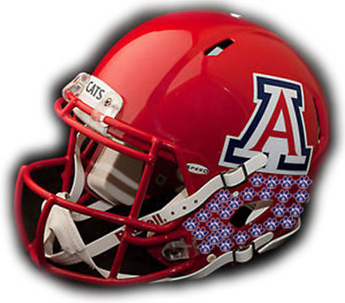 Arizona Wildcats Helmet Sticker Update: UA achieves 11 in win over NAU
