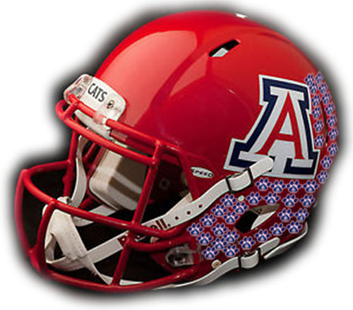 Arizona Wildcats helmet stickers: 10 earned in rout over Beavers