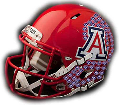 Arizona Wildcats helmet sticker update: UA achieved seven in loss to Cougars