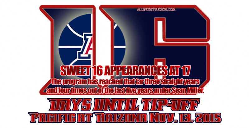 Arizona Wildcats hoops countdown slideshow: We're at 16 days and counting to tipoff