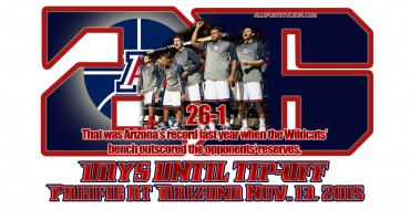 Arizona Wildcats hoops countdown: We're at 26 days and counting to tipoff