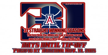 Arizona Wildcats hoops countdown slideshow: We're at 31 days and counting to tipoff