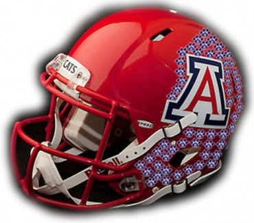 Arizona Wildcats helmet stickers — Only two earned at Washington