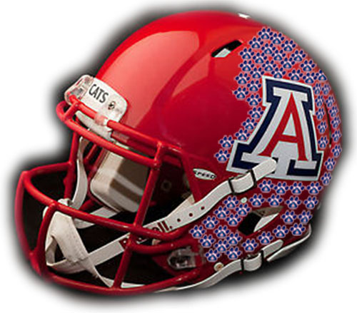 Arizona Wildcats helmet sticker update: Eight achieved in win over Utah