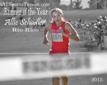 Allie Schadler is our Runner of the Year