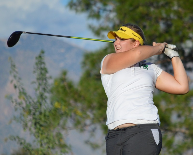 State Golf: Amphi's Jessica Williams & Salpointe's Trevor Werbylo leading after day one
