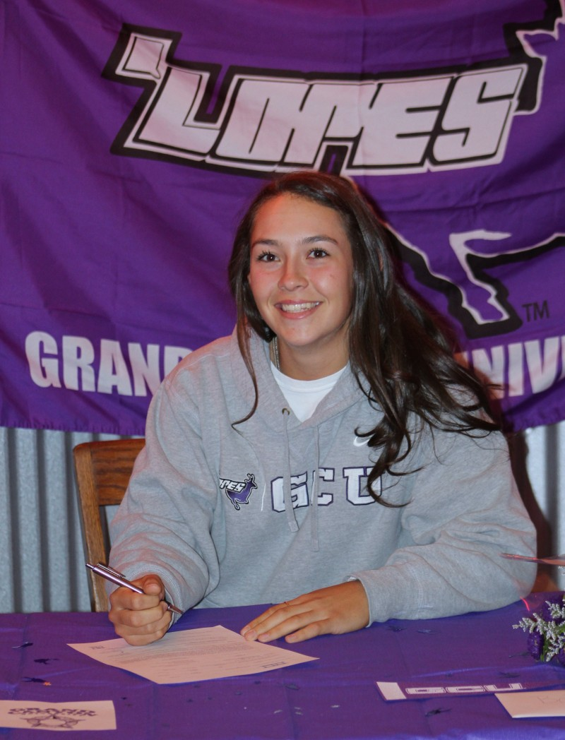Salpointe's Brianna Aguilar-Beaucage to pitch for Grand Canyon