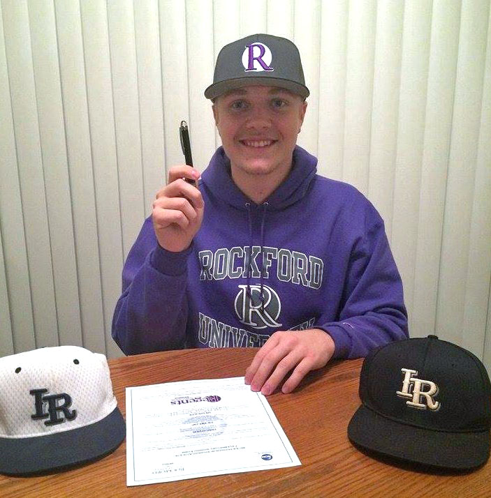 Ironwood Ridge pitcher Christian Pearcy signs with Rockford University