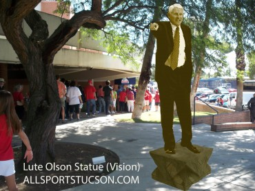Oregon has duck statue outside arena; Arizona should have one of Olson outside McKale