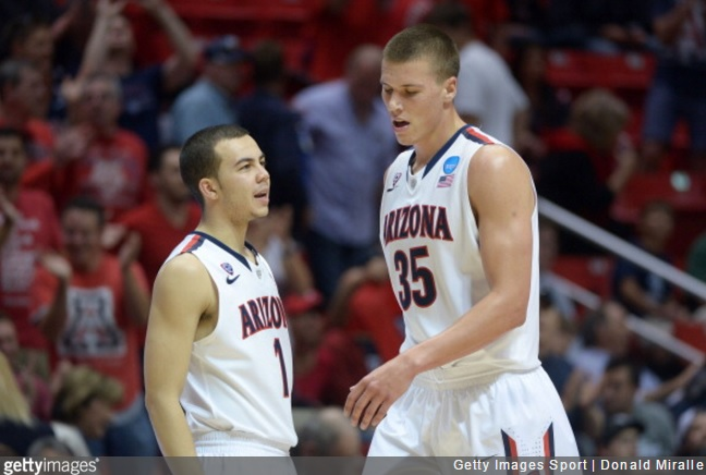 Tarczewski, York join Arizona Wildcats group who never lost at multiple Pac-12 venues