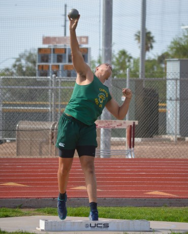 CDO's Turner Washington setting national discus marks