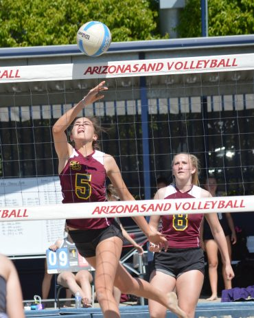 Salpointe to play for Sand Volleyball Championship