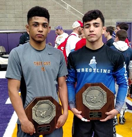 WRESTLING: Danny Vega and Roman Bravo-Young are National Folkstyle champions again