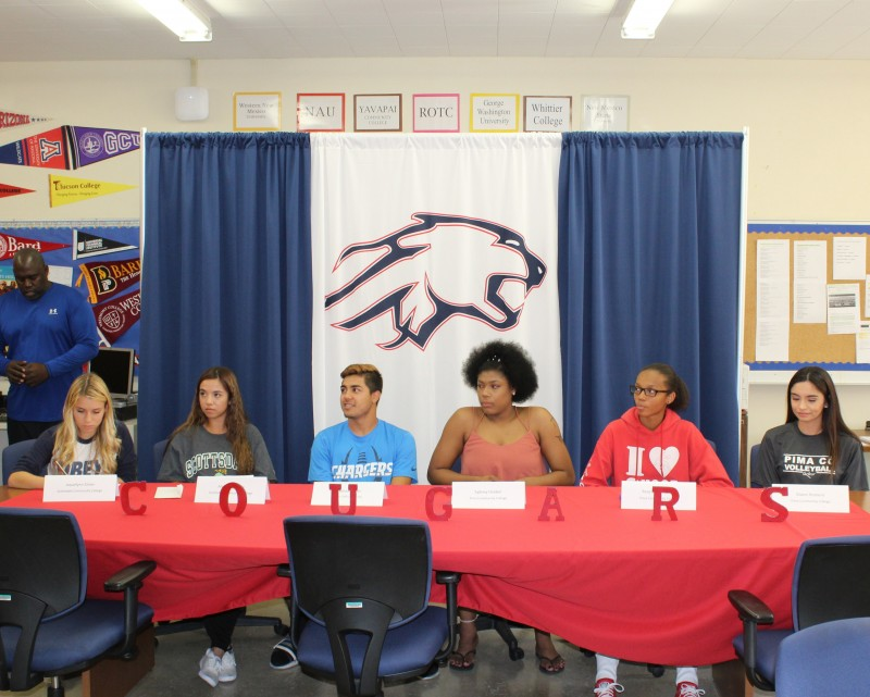 SIGNING PERIOD: Sahuaro sending six to the next level