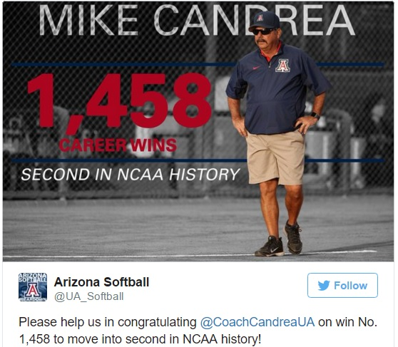 Arizona Wildcats social media reactions: Candrea makes history in win over Stanford