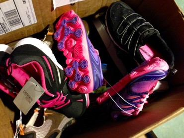 The Kicks4Kids program is now well over 600 pairs of shoes